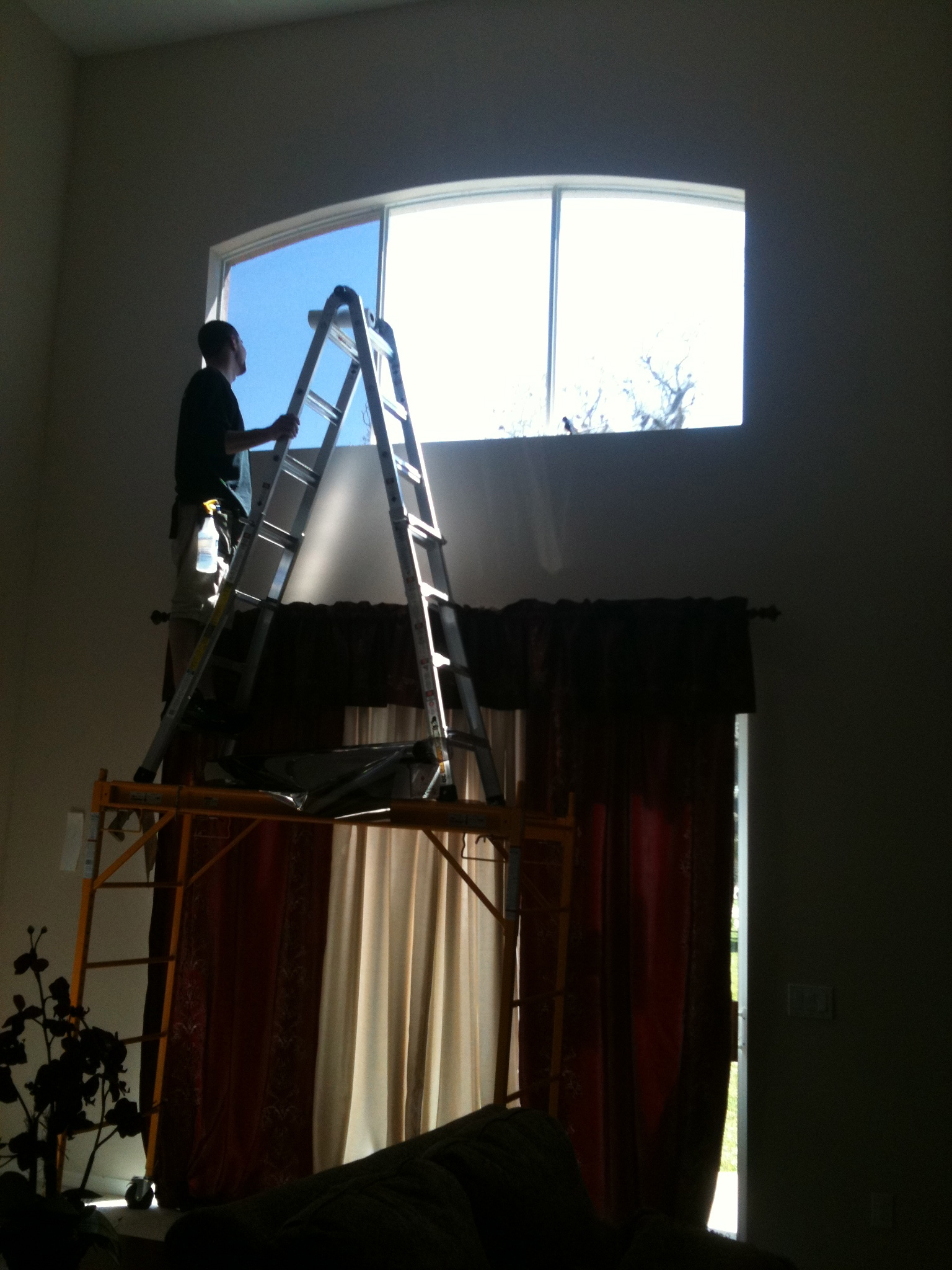 Pre-installation Window Film
