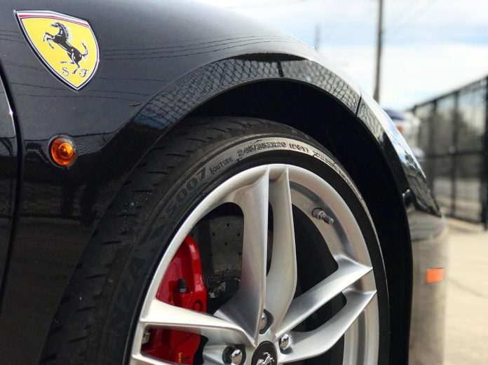 Ferrari Paint Protection Film PPF Clear Bra Orlando Florida