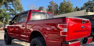 Ford F150 Window Tint Orlando