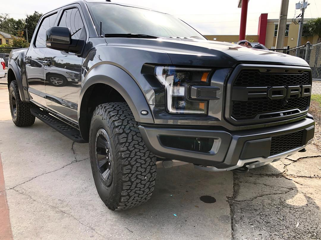 Ford Raptor Window Tint Clear Bra Paint Protection