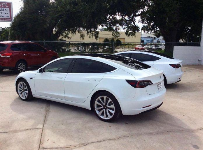 Tesla Window Tint Orlando Model 3 Window Tint Orlando