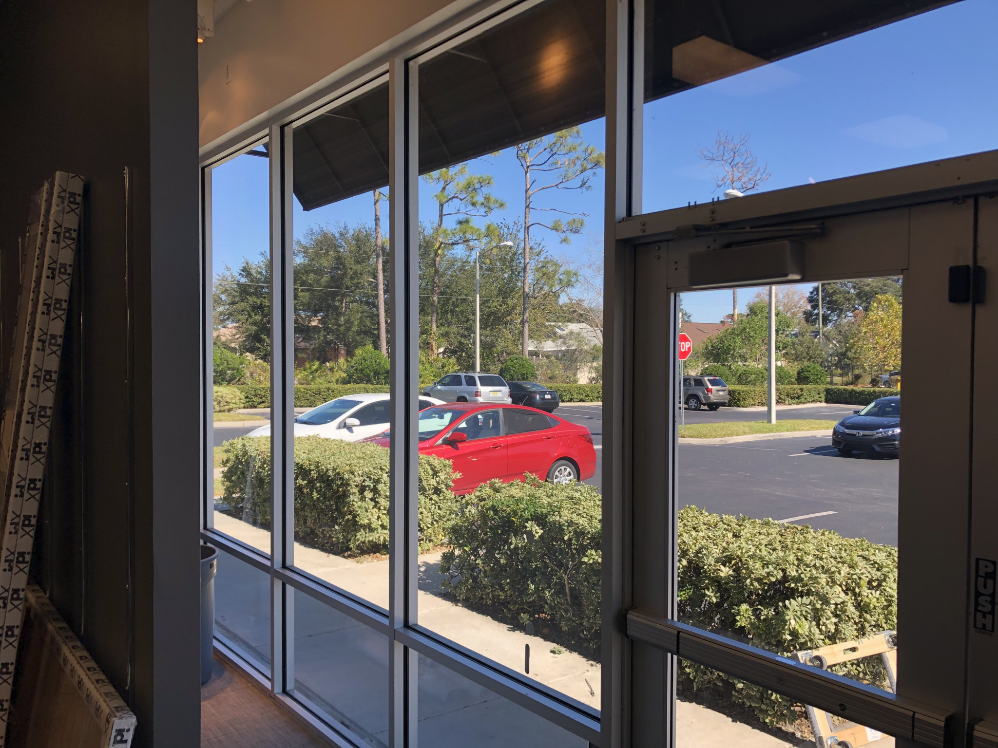 Commercial Window Tint Orlando for Men's Warehouse