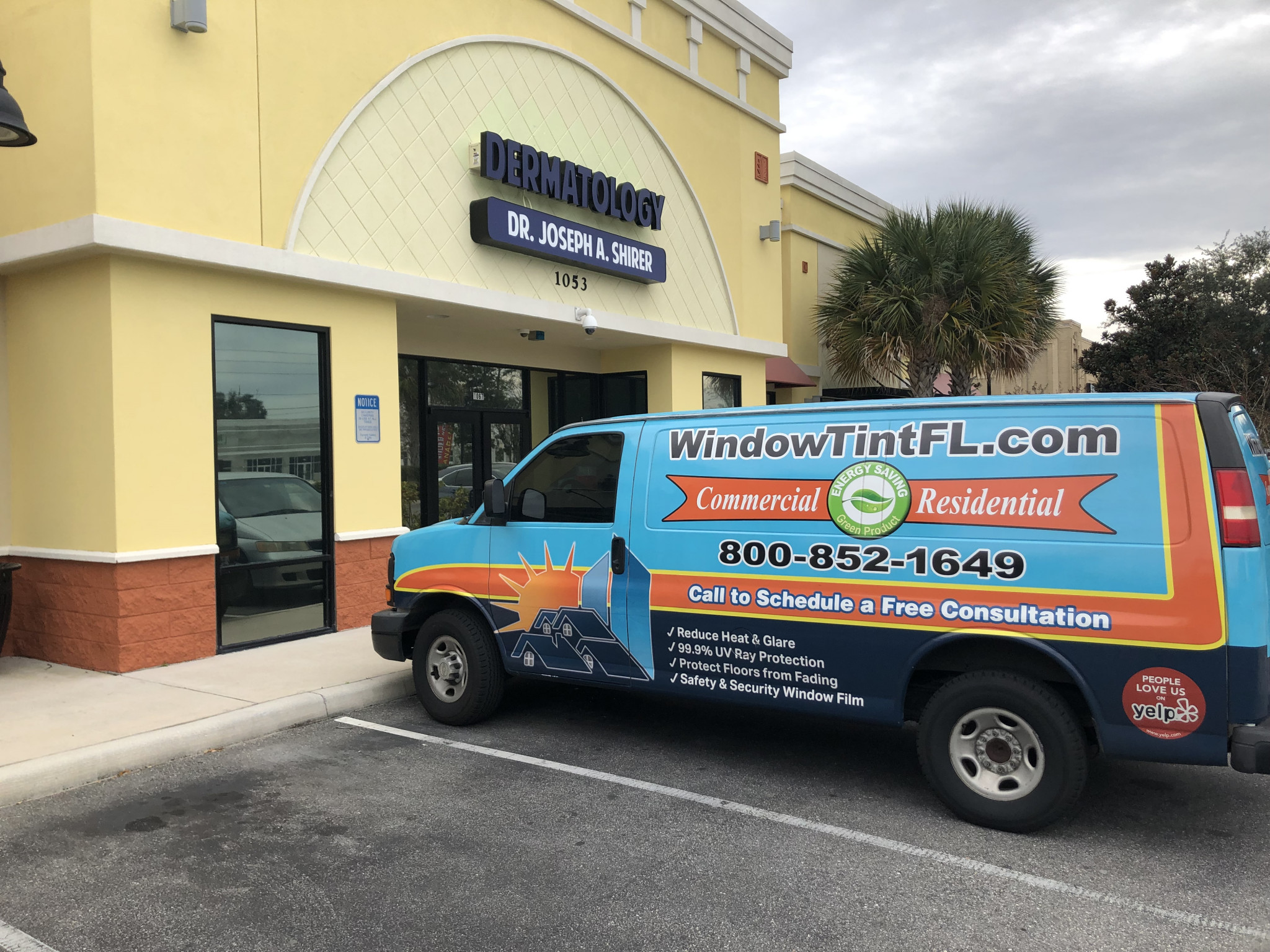 Mirror Tint for Privacy in Orlando