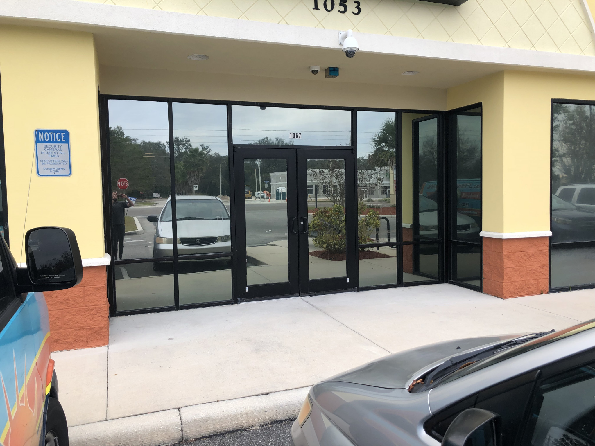 Privacy Mirror Tint for Orlando Storefront