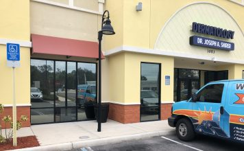 Commercial Window Tint Mirror Privacy Tint in Orlando