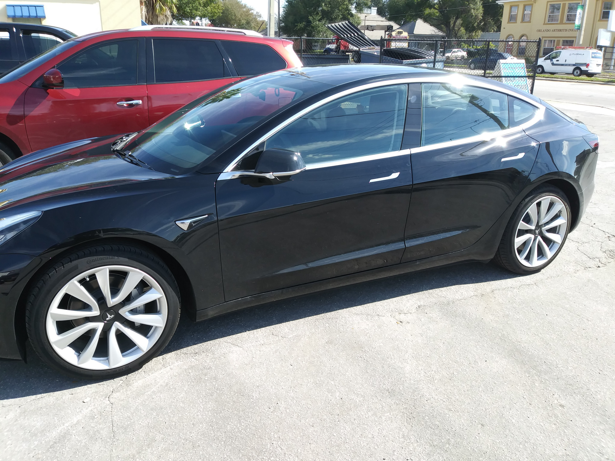 Model 3 Window Tint in Orlando by Ultimate Window Tinting
