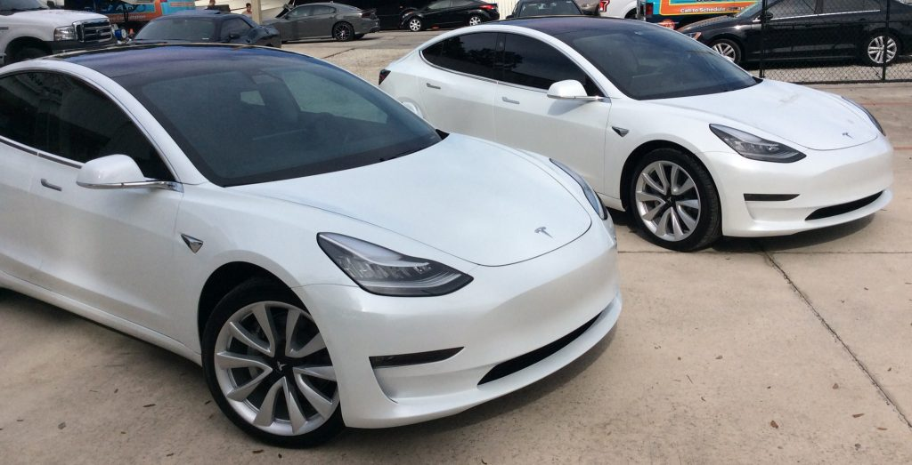 Tesla Model 3 Window Tint Orlando