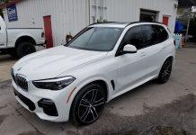 Window Tint BMW X5 Orlando FL