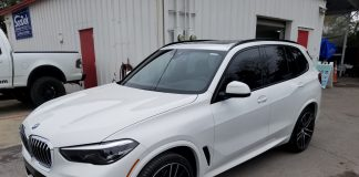 Window Tint BMW X5 Orlando FL