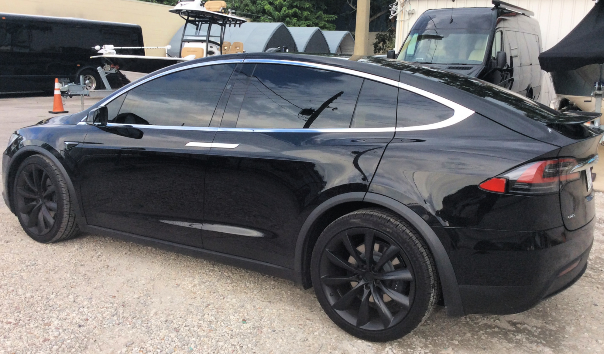 Tesla Model X Window Tint Orlando Ultimate Window Tinting