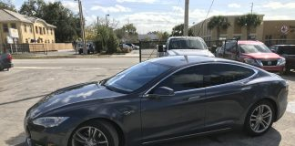 Best Window Tint for Tesla Model S in Orlando FL