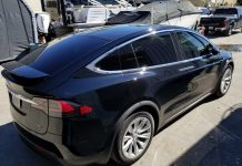 Best Tesla Model X Window Tinting Orlando
