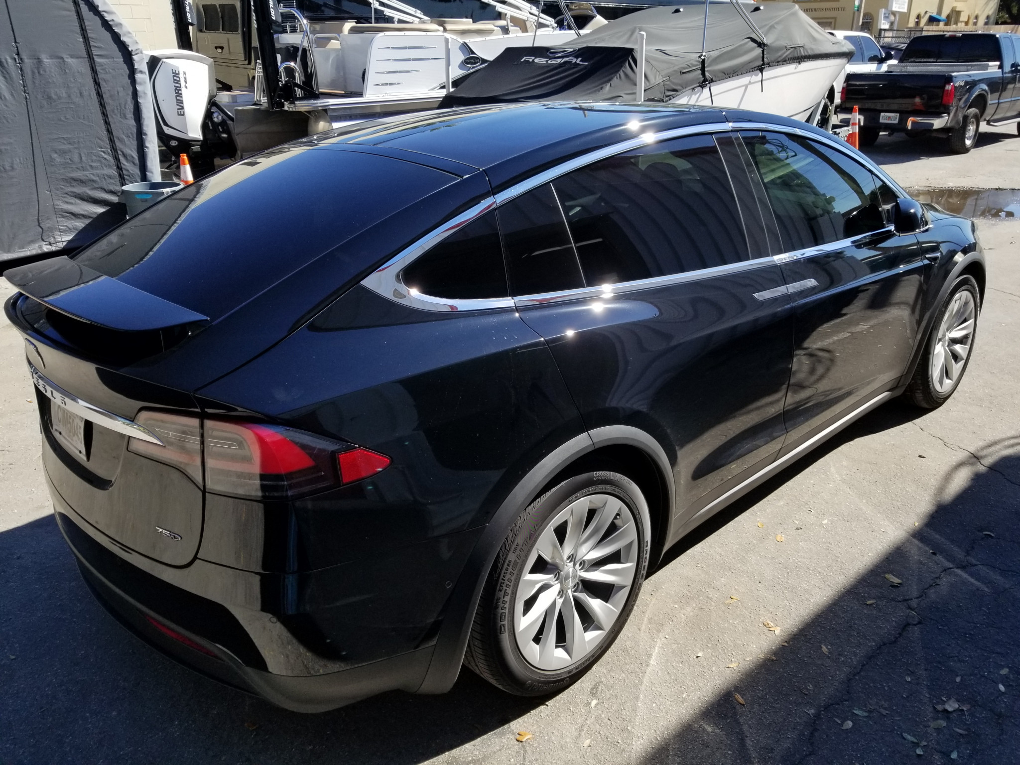 Best Tesla Model X Window Tinting Orlando