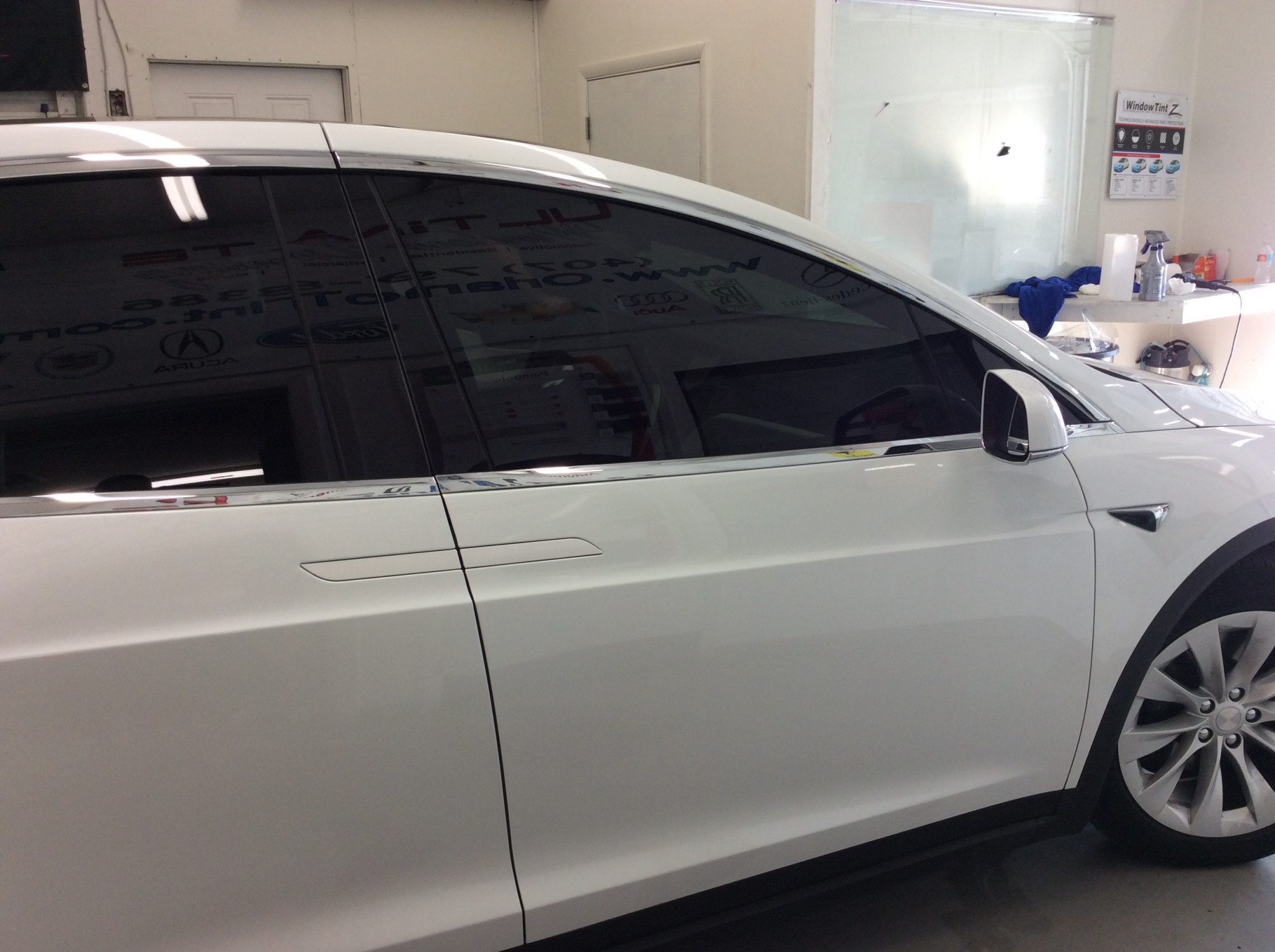 Best Window Tint for Tesla Model X