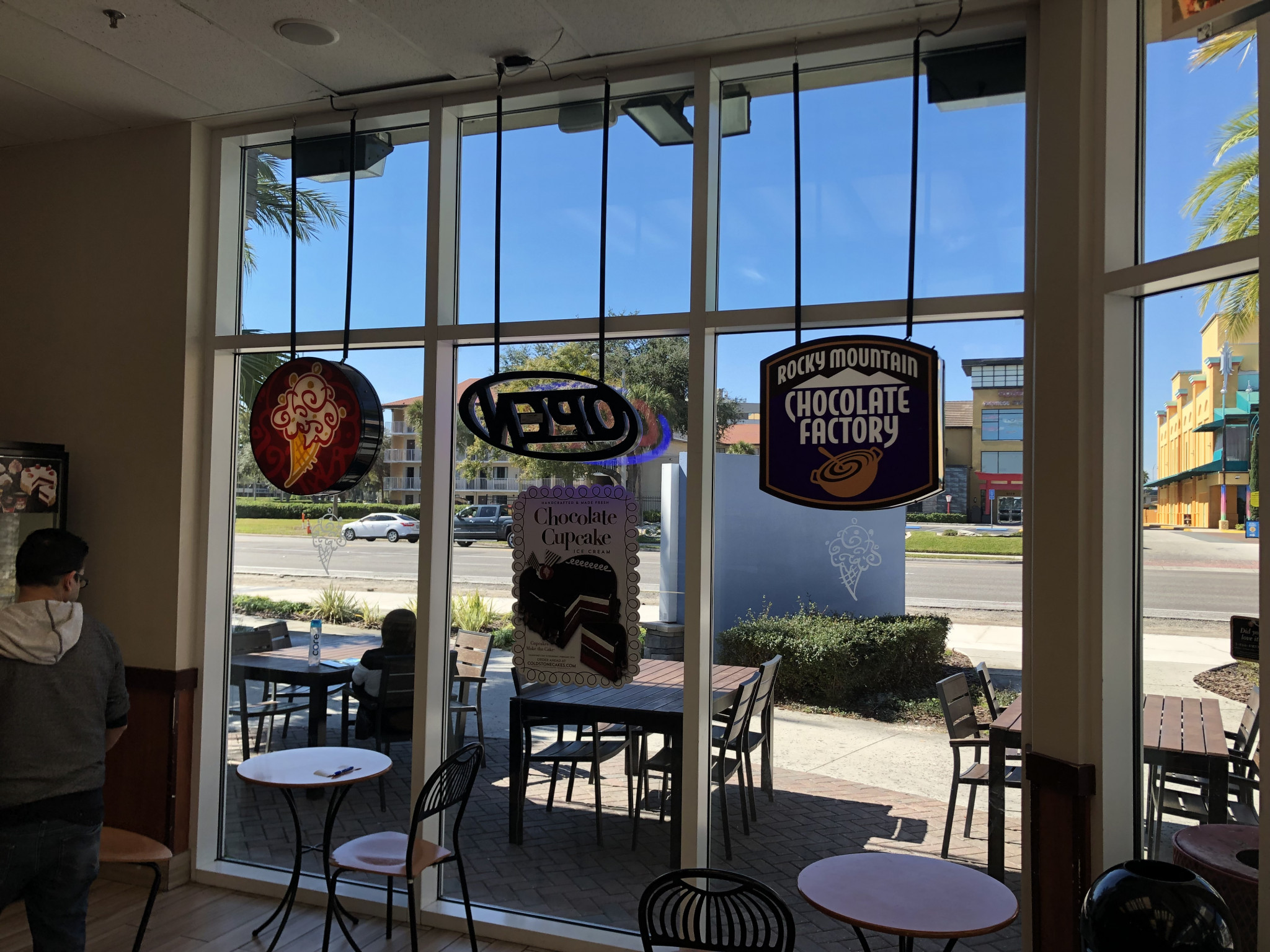 Clear Window Film for Storefront in Orlando
