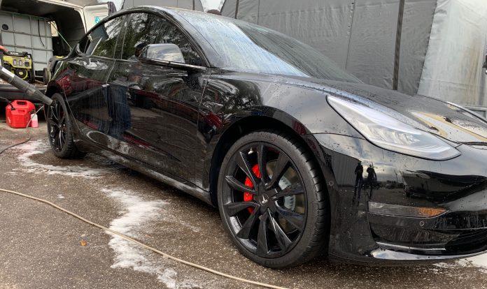 Tesla Model 3 Paint Protection Film Orlando