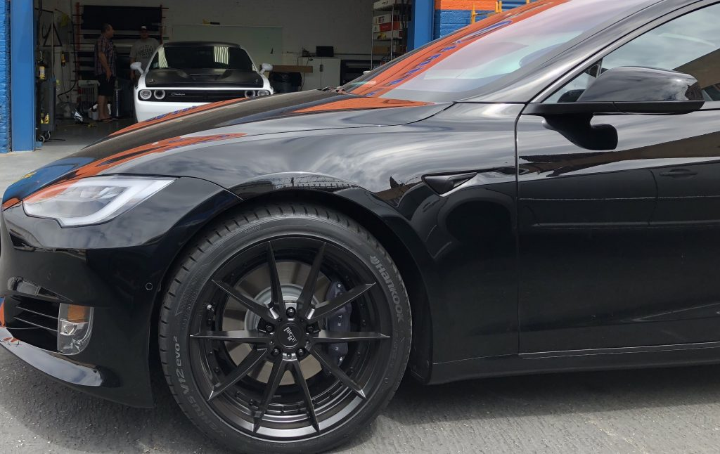 Tesla Model S Chrome Delete Orlando