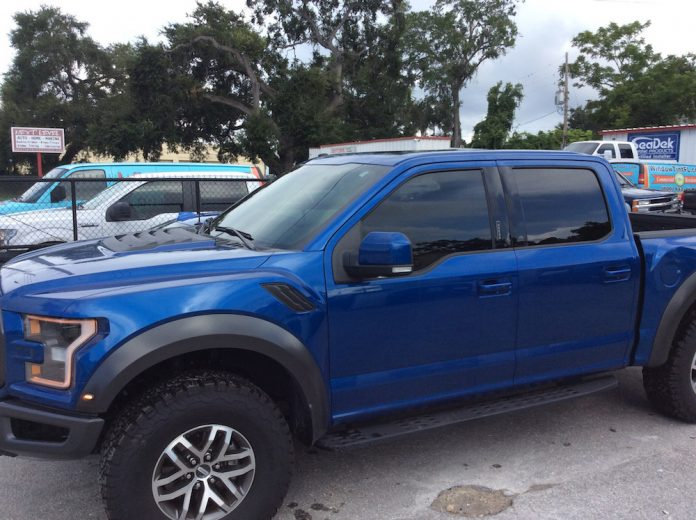 Ford F150 Raptor Window Tint Orlando FL