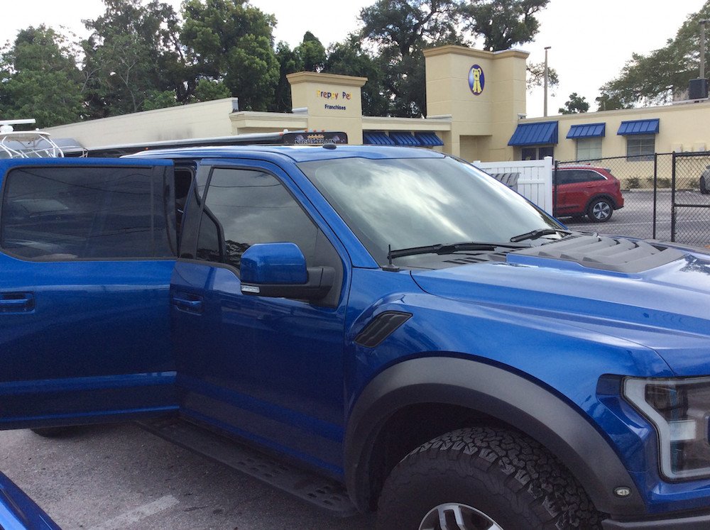 Ford Raptor F150 Window Tint Orlando FL
