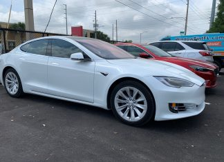 Tesla Model S 75D Ceramic Window Tint in Orlando