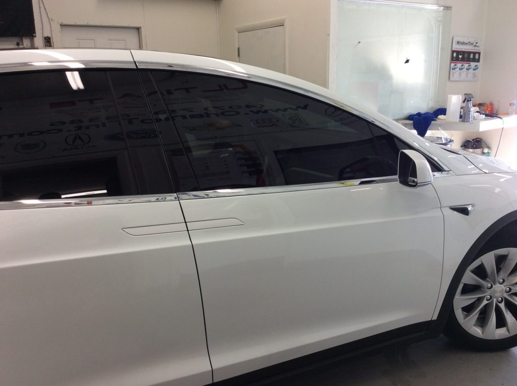 Ceramic Tint Orlando Tesla Model X
