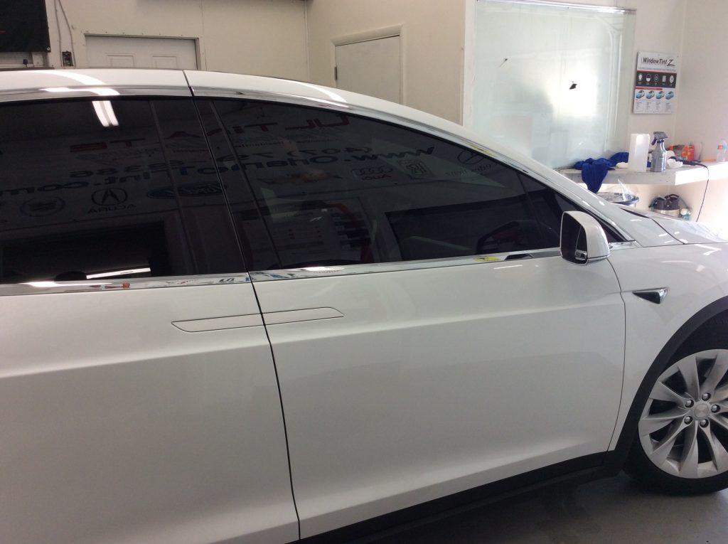 Ceramic Tint Orlando Tesla Model X