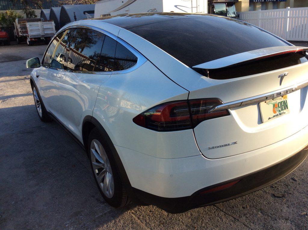 Window Tint Tesla Model X Orlando