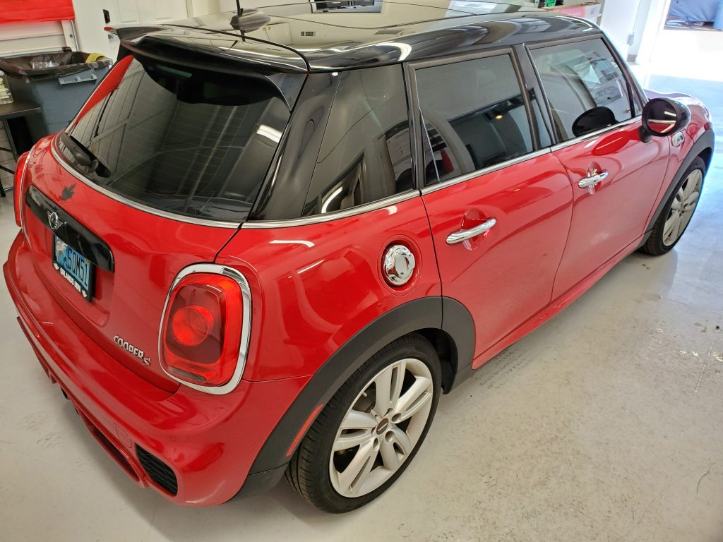 2016 Mini Cooper Window Tint Orlando FL