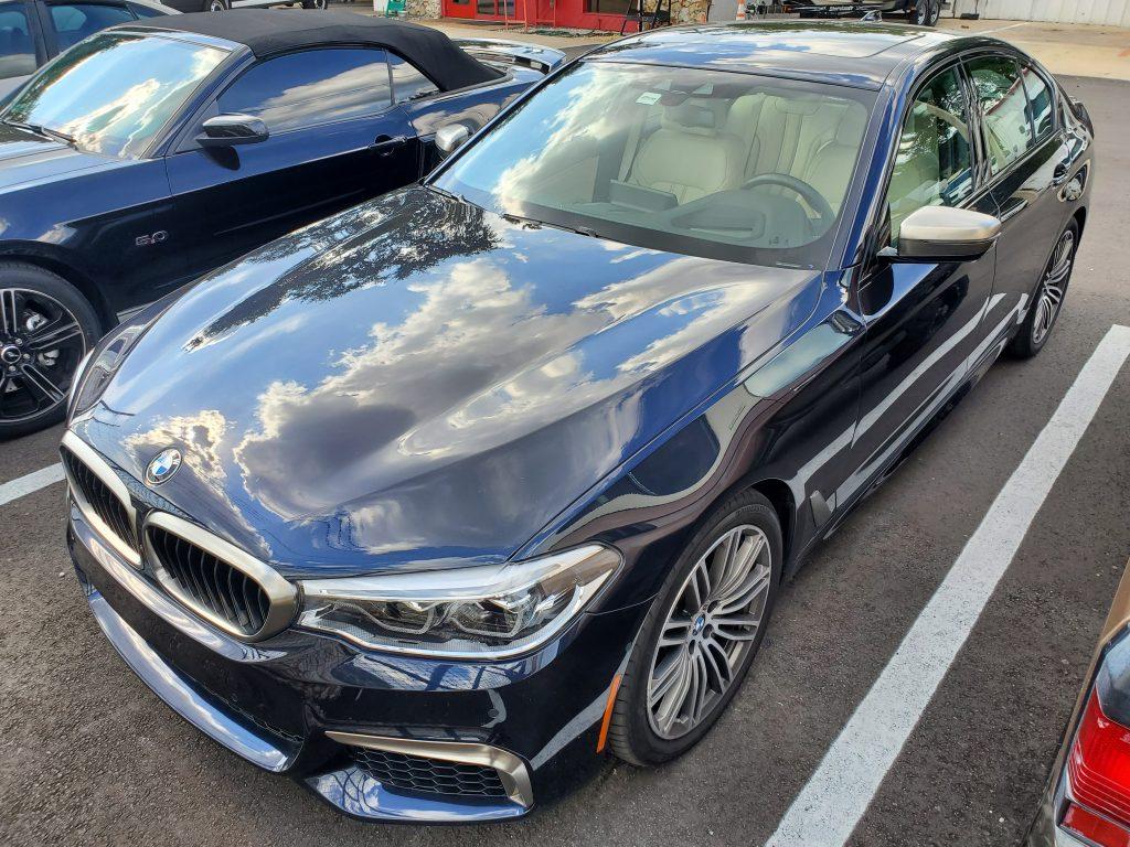 2018 BMW 5 Series Window Tint Orlando FL