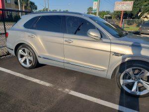 2019 Bentley Bentayga Window Tint Orlando FL