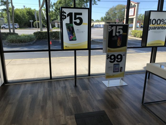 Sprint Store Window Tint Daytona Beach