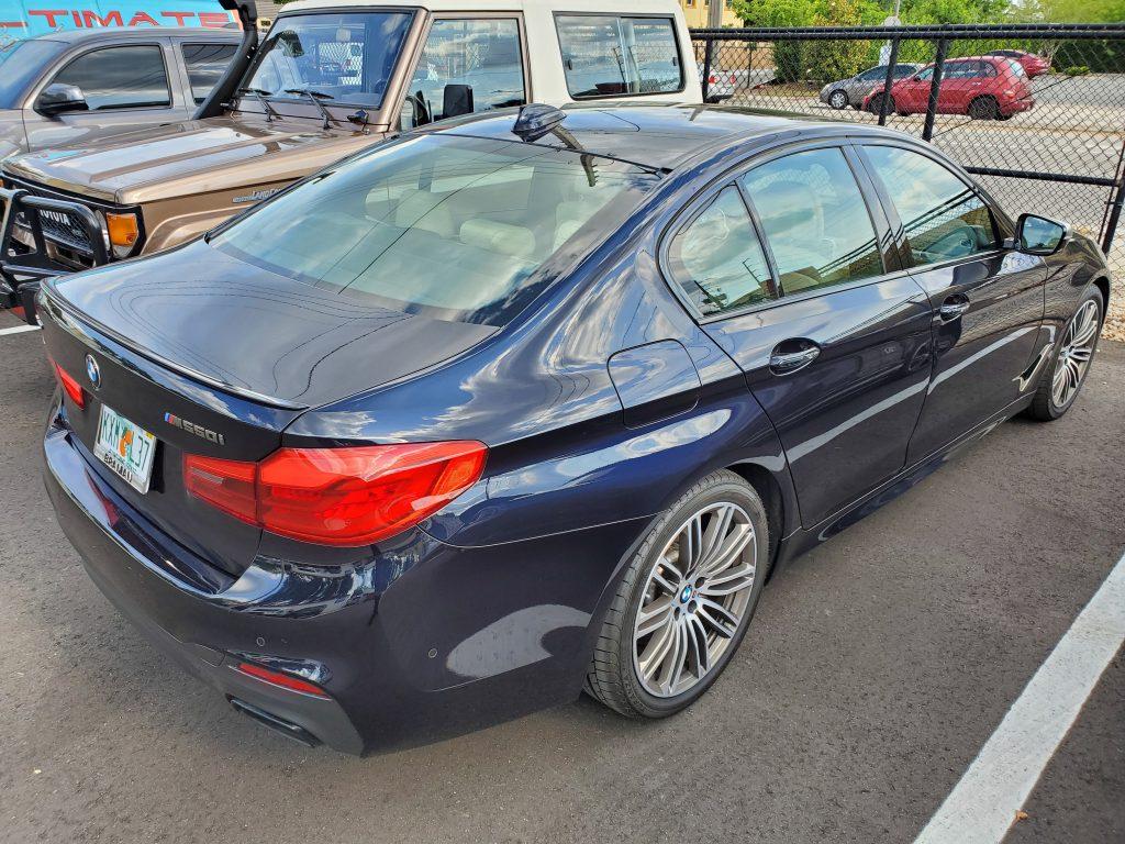 2018 BMW 5 Series Window Tints Orlando FL