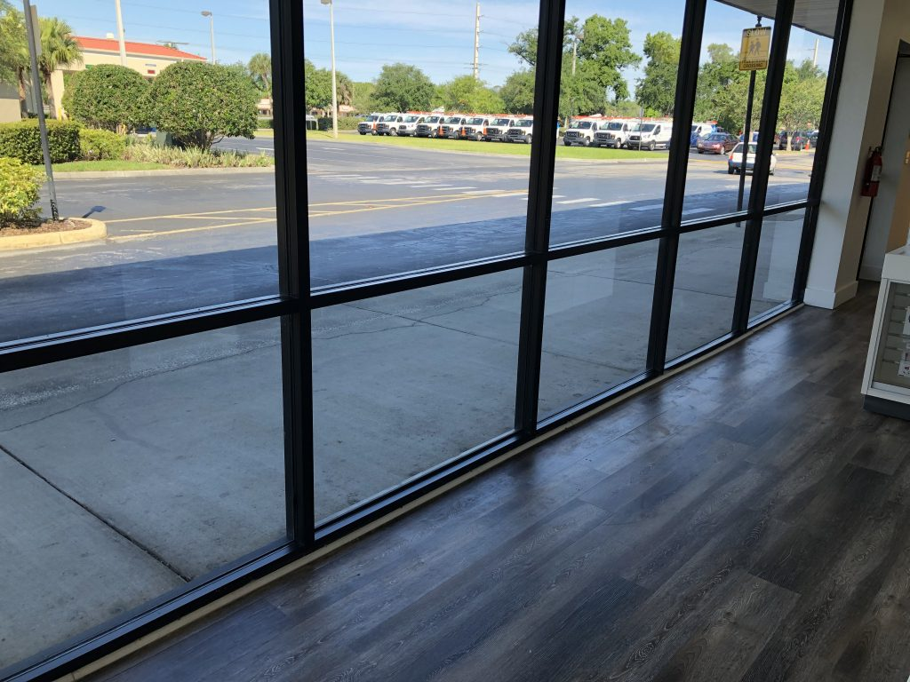 Commercial Store Window Tint in Daytona Beach FL