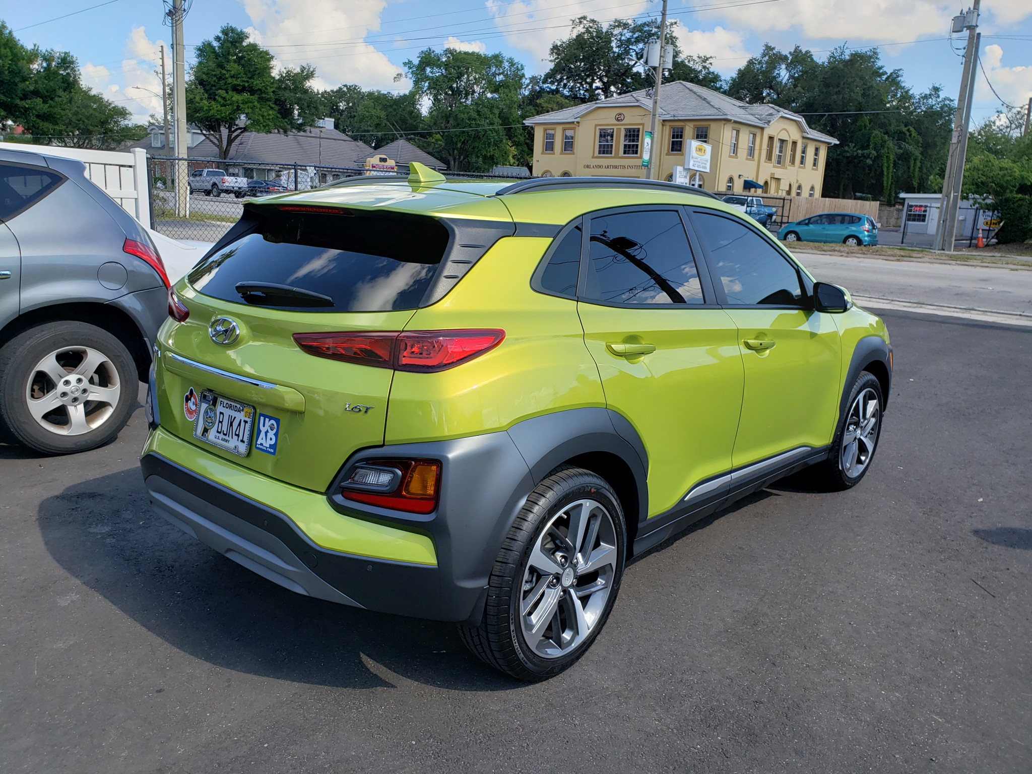 2019 Kia Kona Window Tint Orlando Fl Ultimate Window