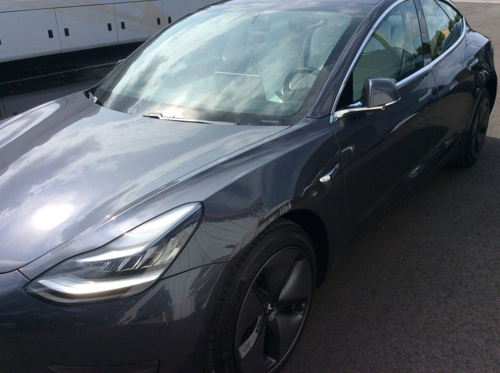 best car window tint Tesla Model 3