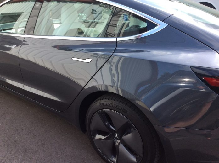 Tesla car window film