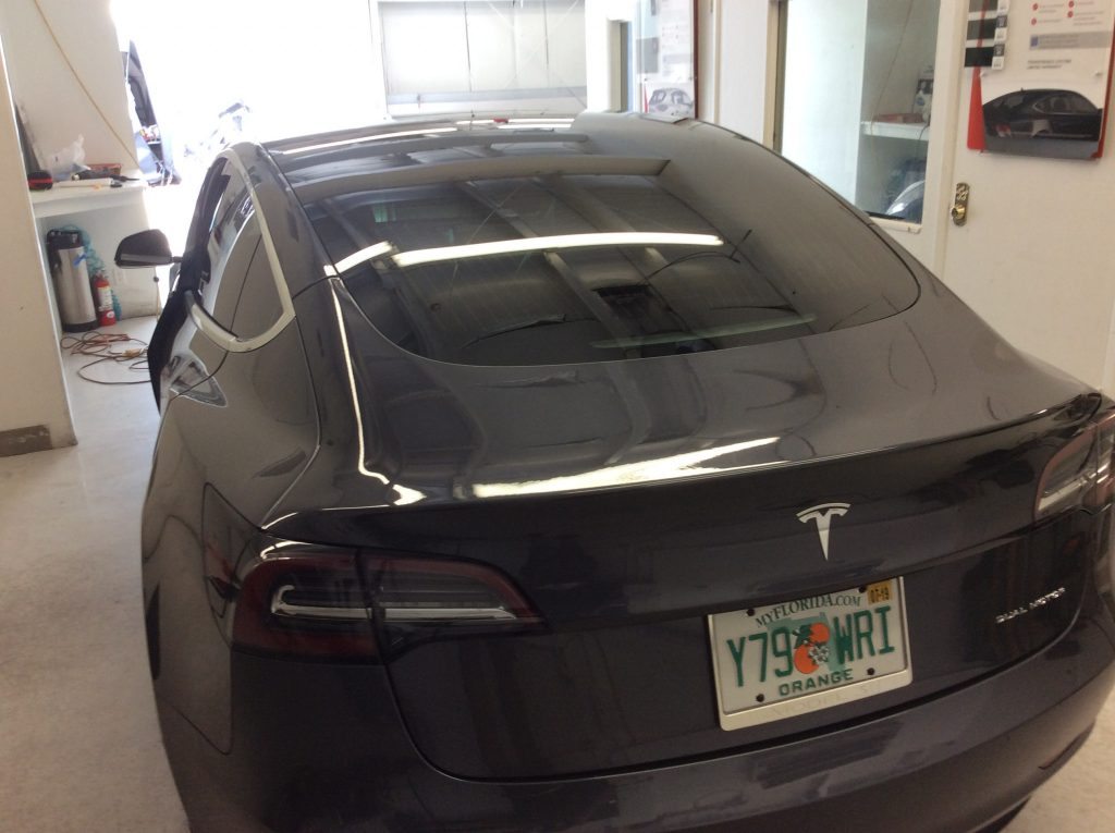 car window tint near me Tesla Model 3