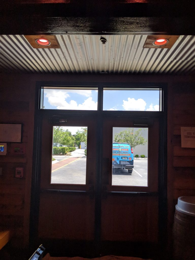 commercial window tinting Orlando Texas Roadhouse