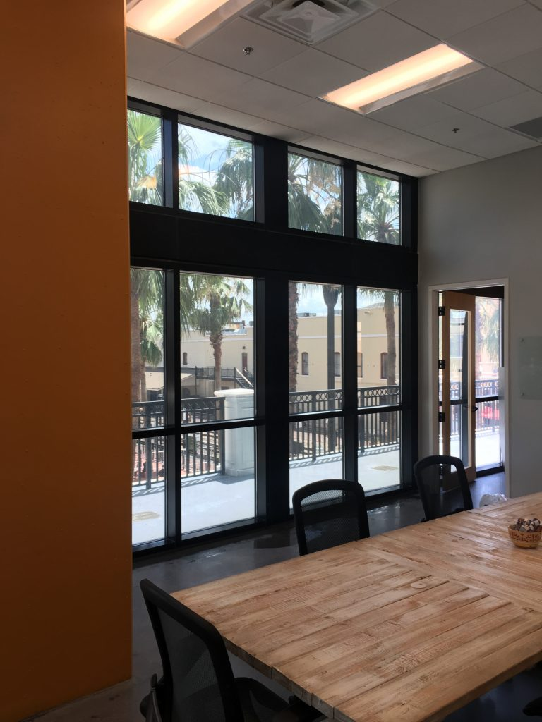 window film for commercial buildings