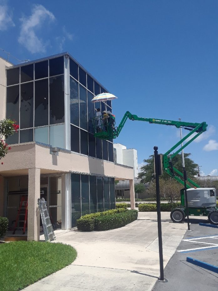 commercial window tinting pompano florida