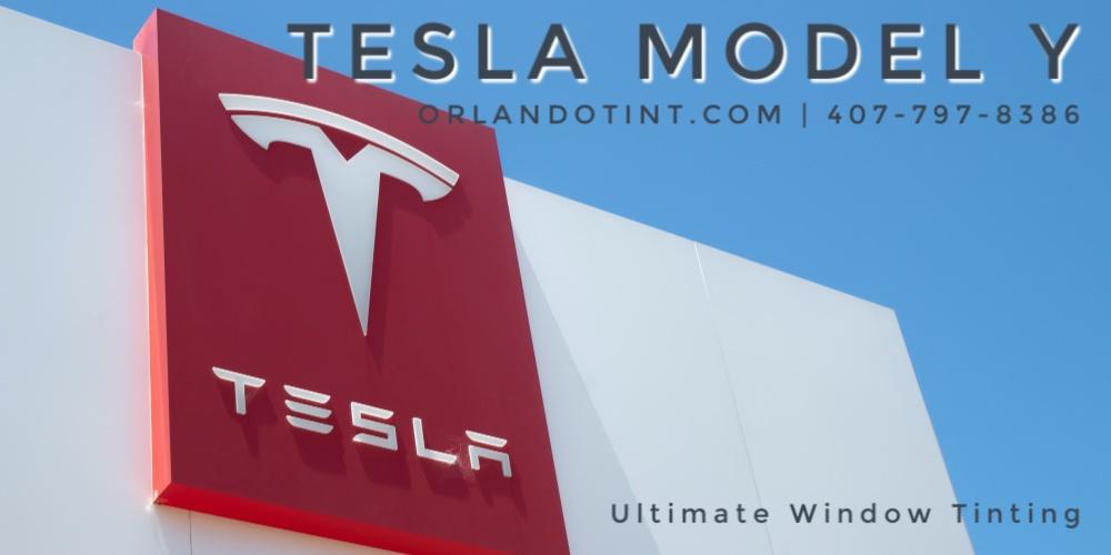 Tesla Model Y Vinyl Wrap Orlando