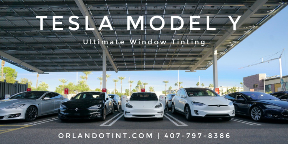 Best Window Tint for Model Y Tesla