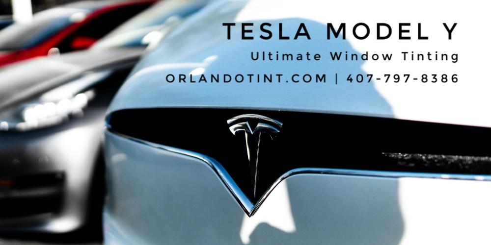 Orlando Tesla Model Y Window Tinting