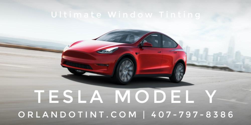 Orlando Model Y Window Tinting