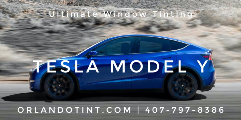 Tesla Model Y Wrap: Tesla Vinyl Car Wrap in Orlando