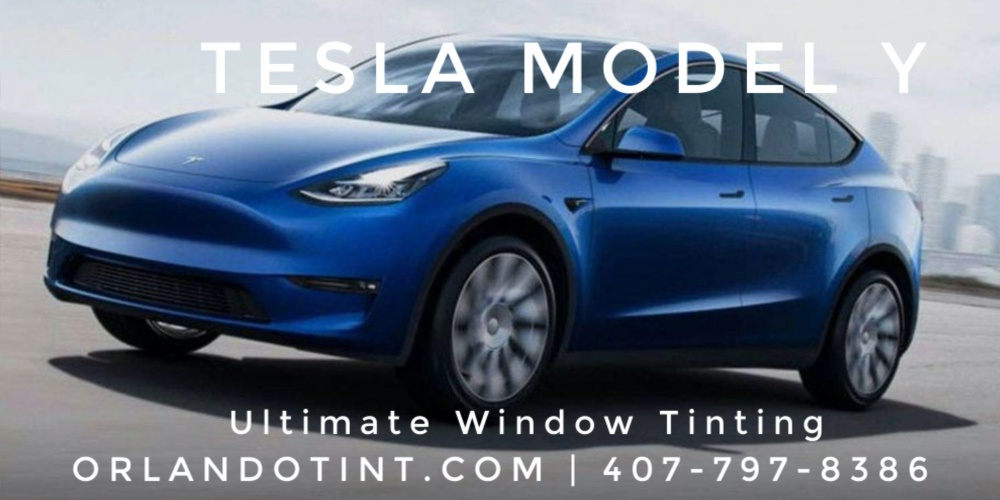 Tesla Model Y Tinting - Orlando and Central Florida